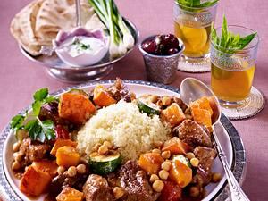 Lamm-Couscous mit Kürbis Rezept