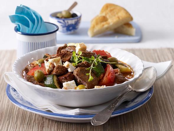 Lamm-Geschnetzeltes mit Oliven Rezept
