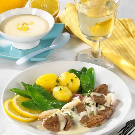 Lamm in Zitronensoße Rezept