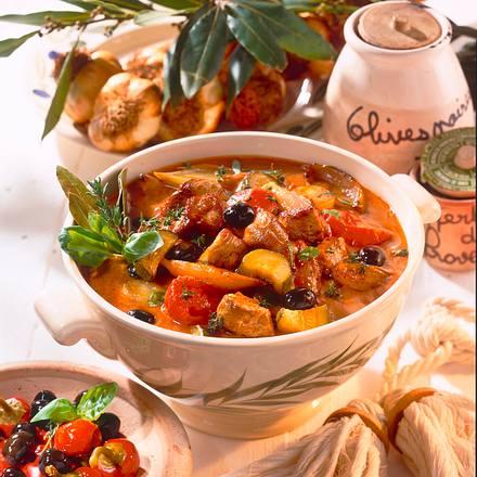 Lammgulasch à la Provence Rezept