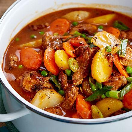Lammgulasch mit Rüben und Kartoffeln Rezept