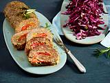 Lammhackbraten mit Rotkohlsalat Rezept