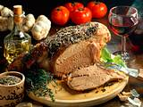 Lammkeule auf provenzalische Art Rezept