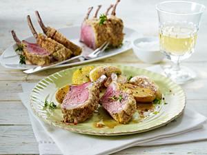Lammrücken mit rosa Pfeffer Rezept