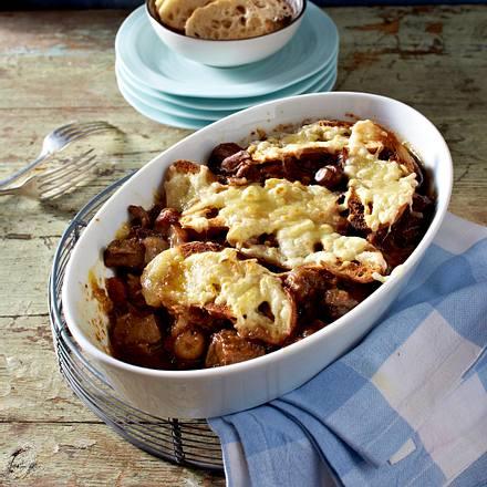 Lammstew mit Süßkartoffelkruste Rezept