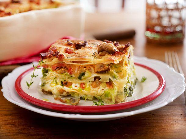 Lasagne alla Carbonara Rezept