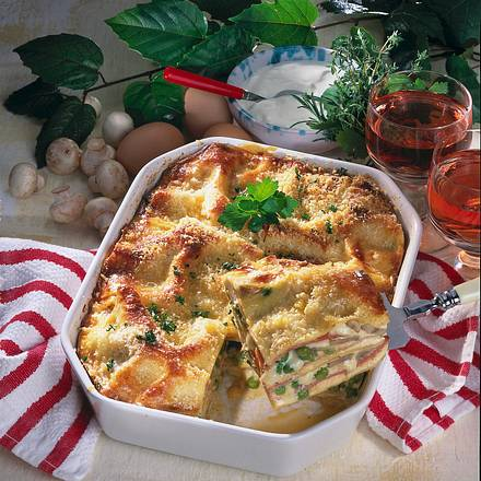 Lasagne Carbonara Rezept