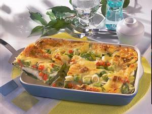 Lasagne-Fischauflauf Rezept