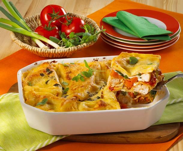 Lasagne mit Hähnchenfilet Rezept