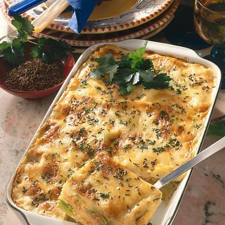 Lasagne mit Linsen Rezept