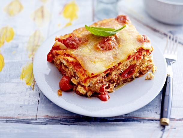 Lasagne mit Spinat-Soße Rezept