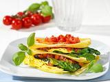 Lasagneblätter mit einer Füllung aus Spinat Rezept