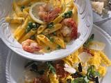 Lasagnette, Speck und Parmesan Rezept