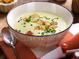 Lauch-Kartoffel-Suppe mit Croûtons Rezept