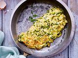 Lauchzwiebel-Omelett Rezept