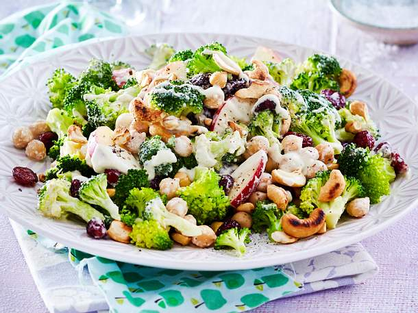Lauwarmer Brokkolisalat Rezept