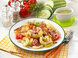 Lauwarmer Kartoffel-Schmorgurken- Salat Rezept