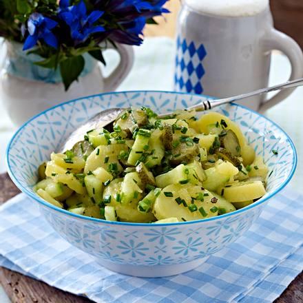 Lauwarmer Kartoffelsalat Rezept