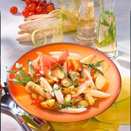 Lauwarmer Spargel-Kartoffel-Salat Rezept