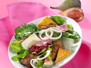 Lauwarmer Spinat-Hähnchenleber-Salat Rezept