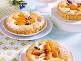 Lavendel-Aprikosen-Törtchen Rezept