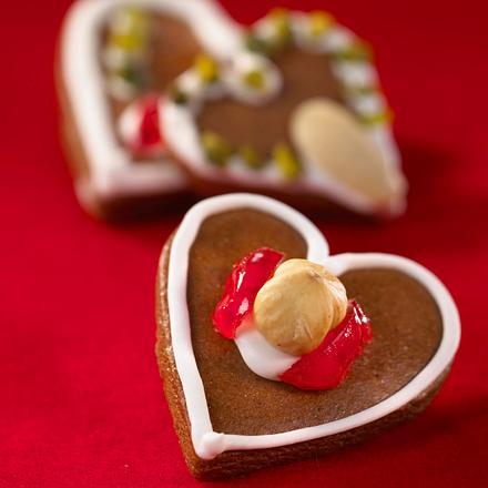 Lebkuchen-Herzen-Kekse Rezept