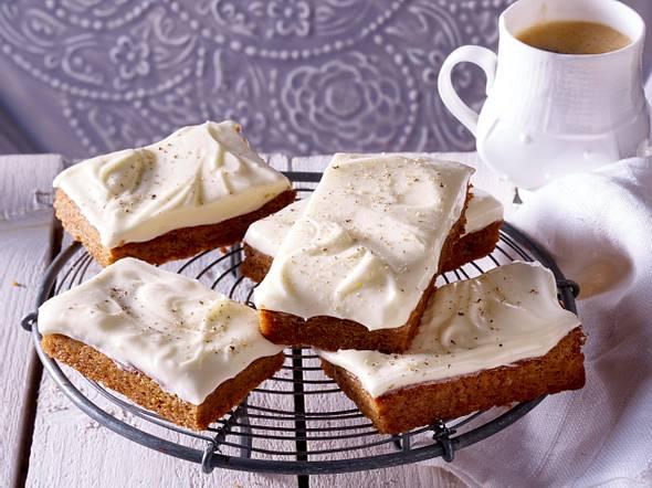 Lebkuchen mit Frischkäse-Frosting Rezept