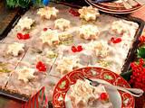 Lebkuchen mit grob gehackten Mandeln Rezept