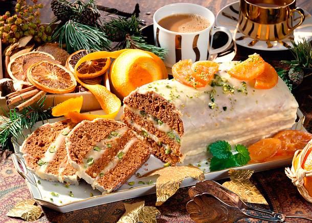 Lebkuchen mit Marzipan-Füllung Rezept