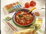 Leckere Tomatensuppe mit Reis Rezept