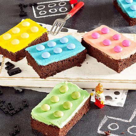 Lego-Brownies Rezept