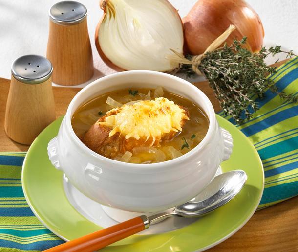Leichte Zwiebelsuppe Rezept
