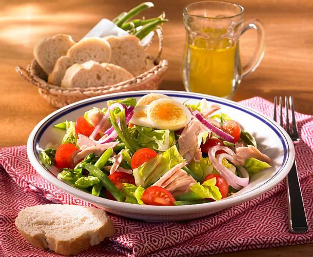 Leichter Nizza-Salat Rezept