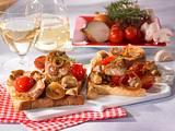 Leichter Pilz-Filet-Toast Rezept