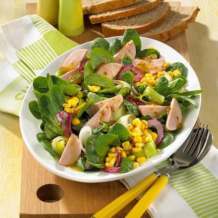 Leichter Wurst-Salat Rezept