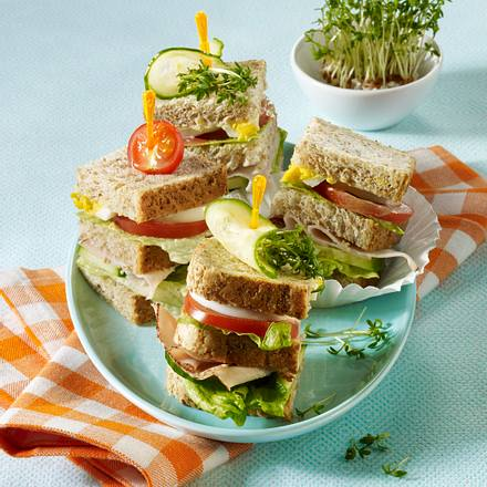 Leichtes Club Sandwich Rezept