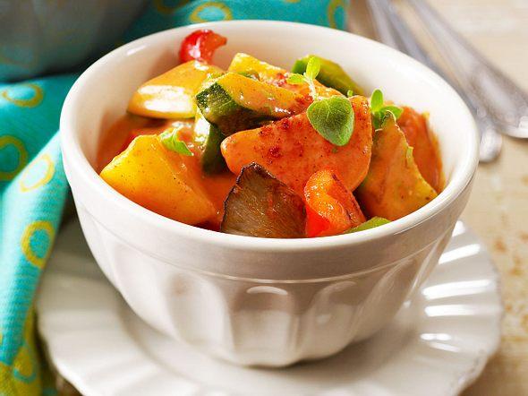 Leichtes Gemüsegulasch Rezept