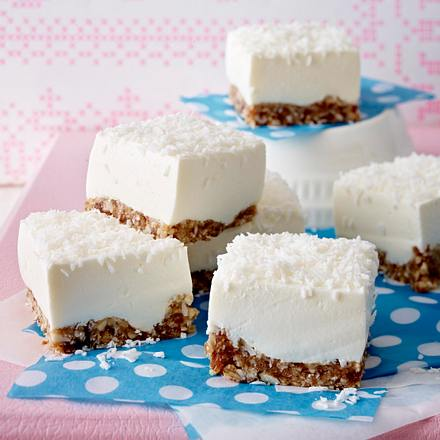 Lemon-Coconut-Cheesecake mit griechischem Joghurt Rezept
