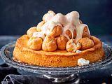 Lemon-Curd-Cake mit Windbeutelzugabe Rezept