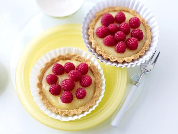 Lemon Curd-Tartelettes Rezept