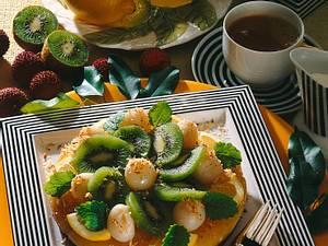 Lemon-Curd-Torte Rezept