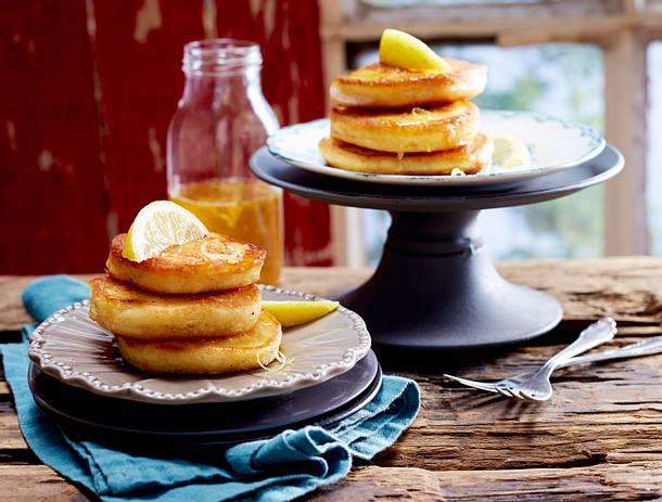 Lemon-Pancakes  Rezept