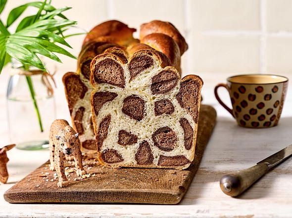 Leoparden-Kastenkuchen Rezept