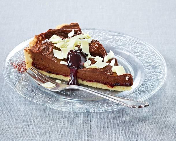 Likör (Baileys)-Schokoladen-Tarte Rezept