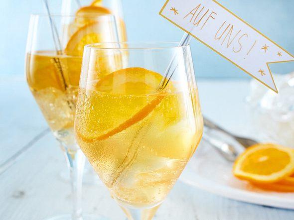 Lillet-Orangen-Spritz Rezept