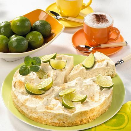 Limetten-Frischkäse-Torte Rezept