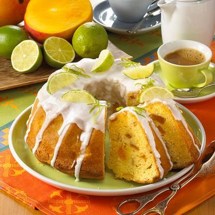 Limetten-Napfkuchen Rezept