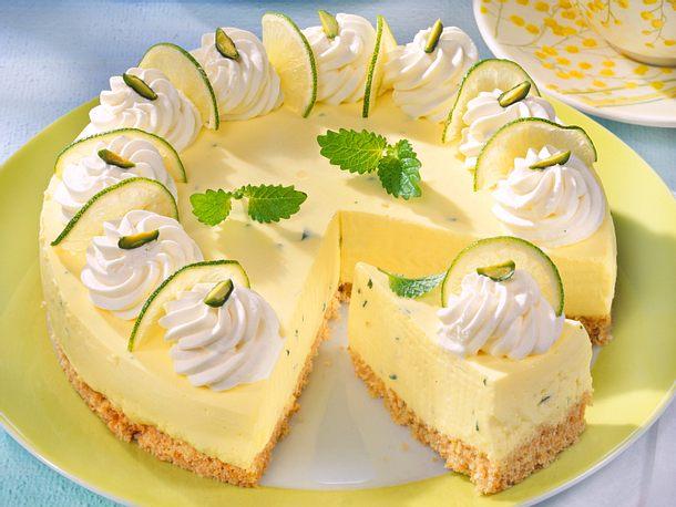 Limetten-Quark-Torte Rezept