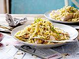 Linguini-Nudeln mit Hähnchen Rezept