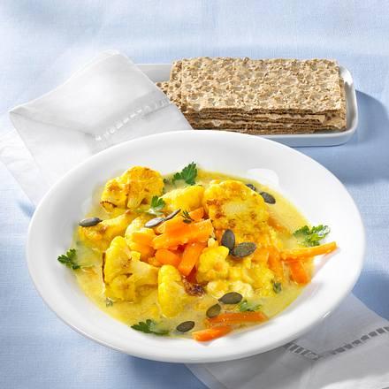 Linsen-Gemüsecurry  Rezept